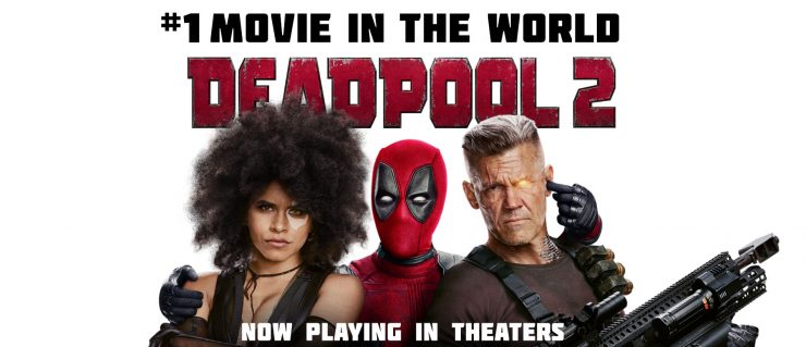 Deadpool 2 with buddies Cable & Domino