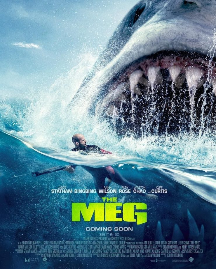 The Meg Theatrical Release Poster