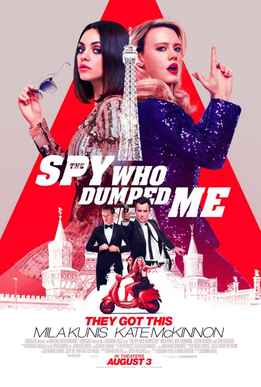The Spy Who Dumped Me Theatrical Release Poster