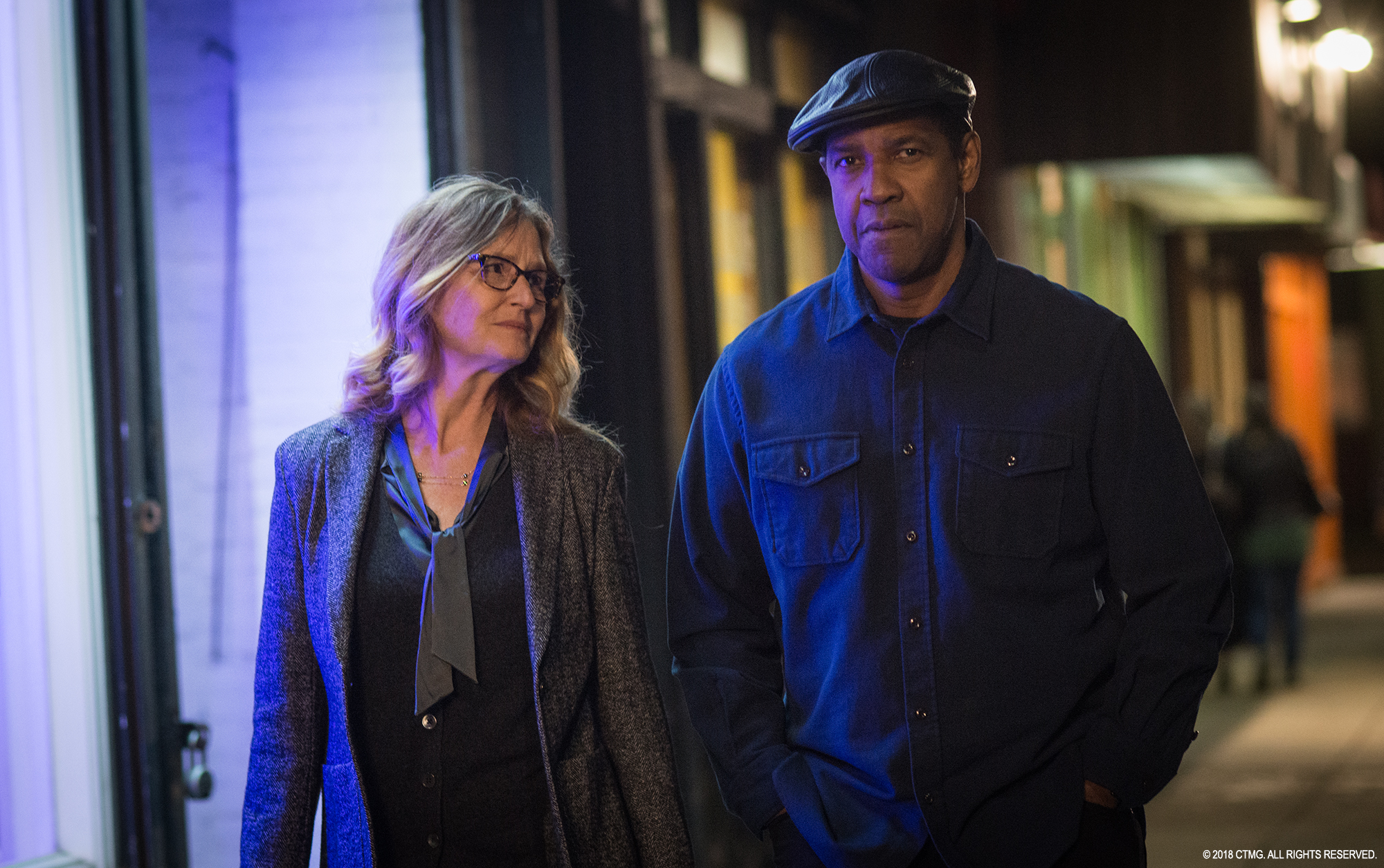 Equalizer 2 Denzel Washington Melissa Leo