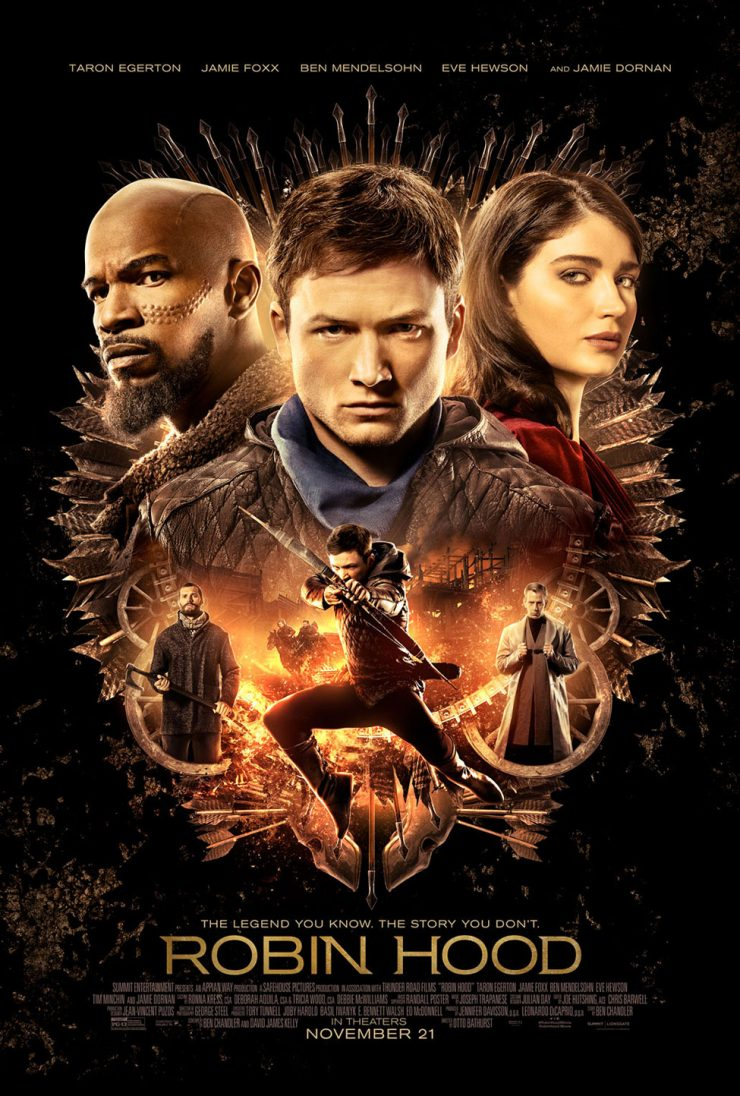 Robin Hood 2018 Theatrical Release Poster
