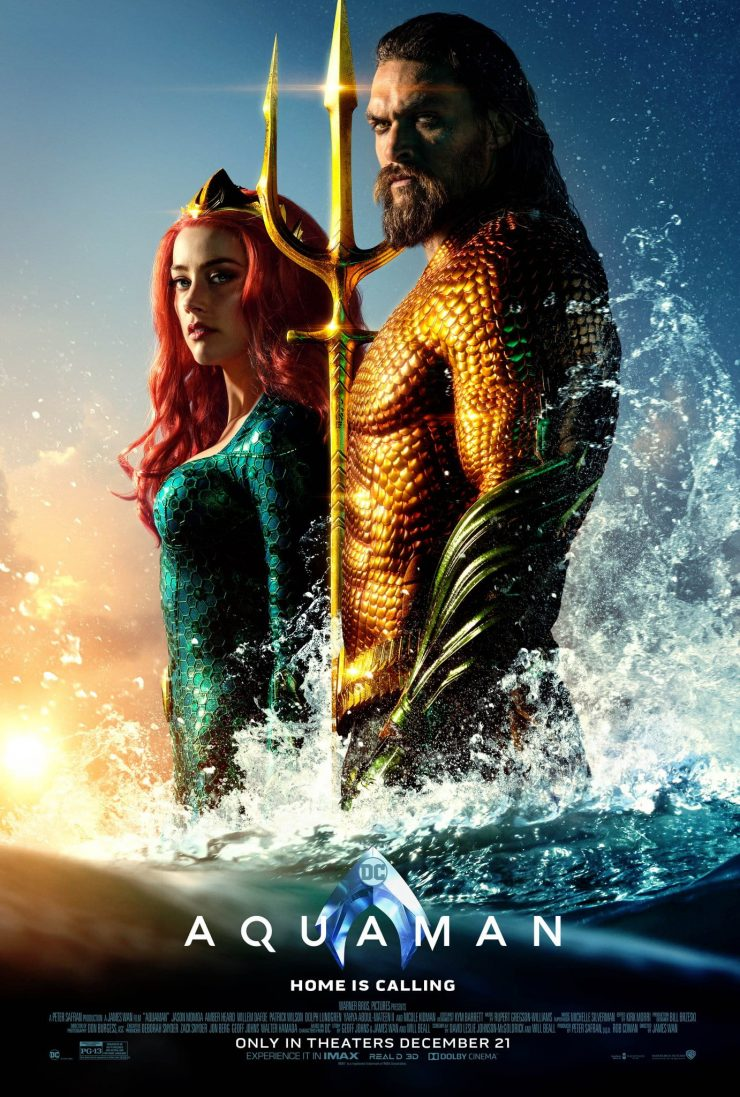 Aquaman Theatrical Release Poster