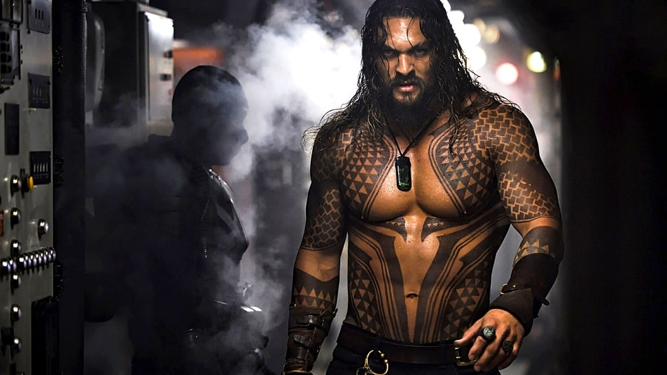 Aquaman wet Jason Momoa
