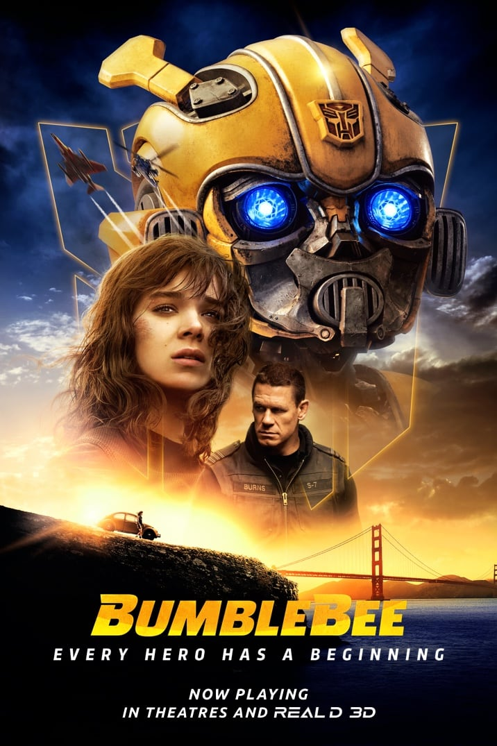 Bumblebee Theatrical Release Poster