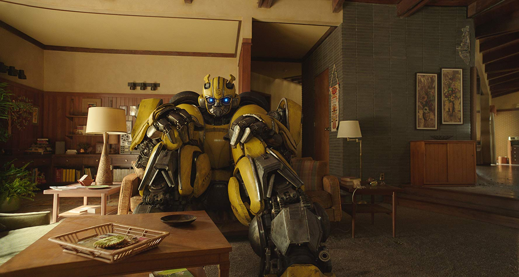 Bumblebee and couch