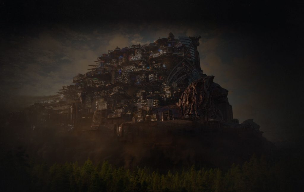 Mortal Engines traction city London