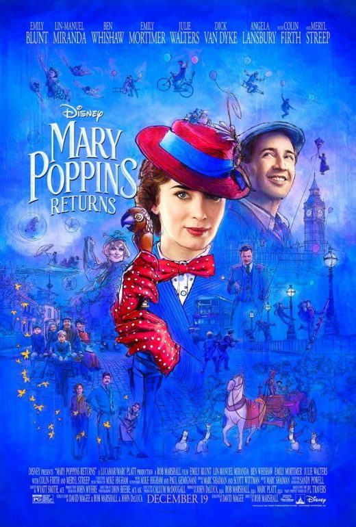 Mary Poppins Returns Theatrical Release Poster