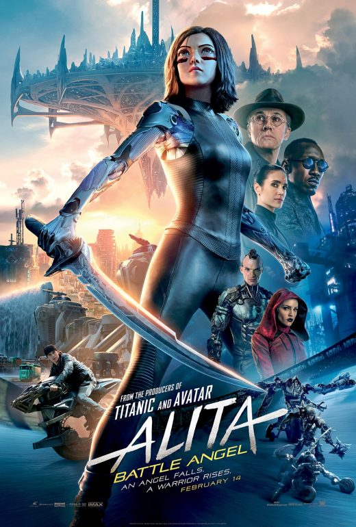 Alita Battle Angel Theatrical Release Poster