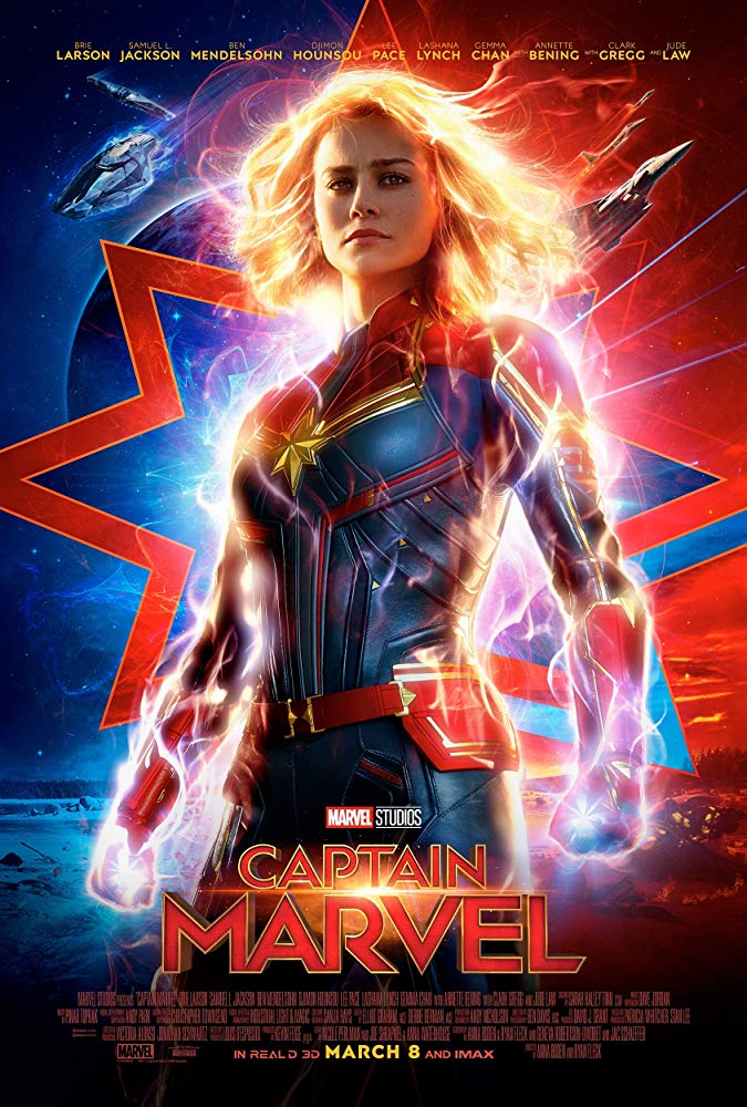 Captain Marvel Theatrical Release Poster