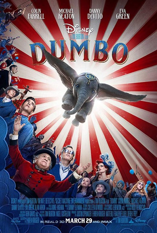 Dumbo Theatrical Release Poster