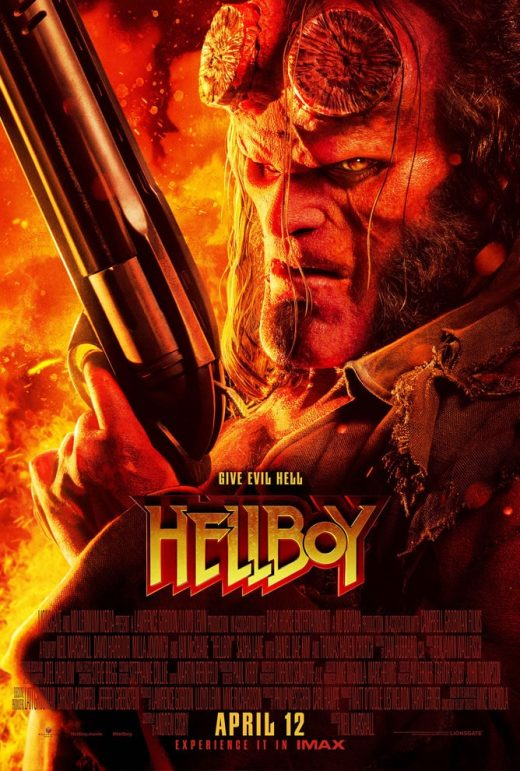 Hellboy Theatrical Release Poster