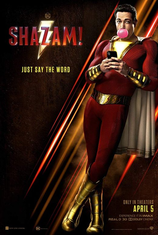 Shazam! Theatrical Release Poster