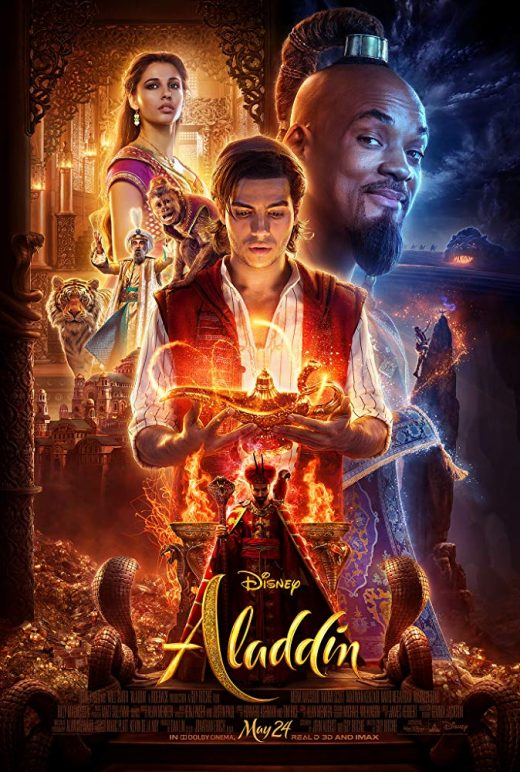Aladdin Theatrical Release Poster