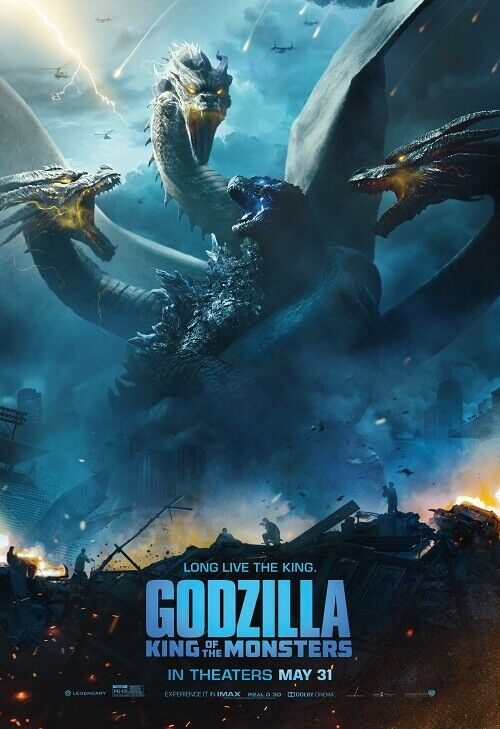 Godzilla King of the Monsters Theatrical Release Poster