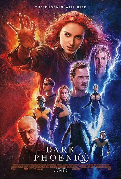 X-Men Dark Phoenix Theatrical Release Poster