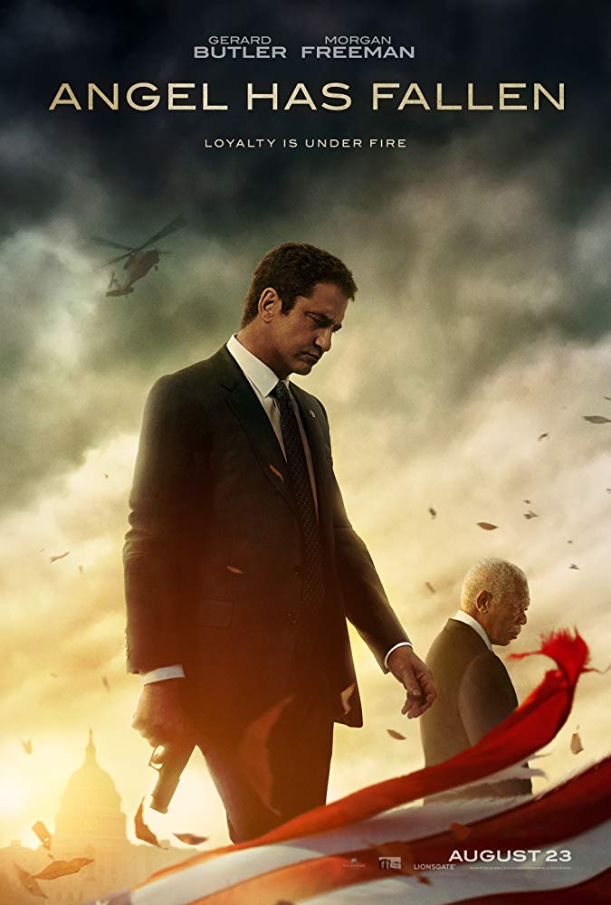 Angel Has Fallen Theatrical Release Poster