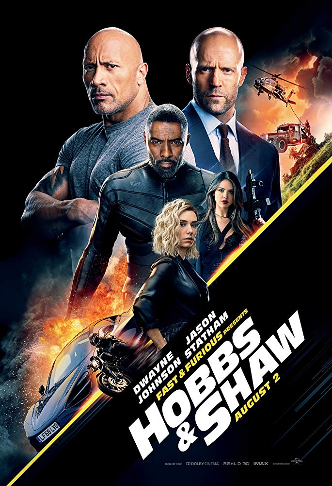 Hobbs & Shaw Theatrical Release Poster