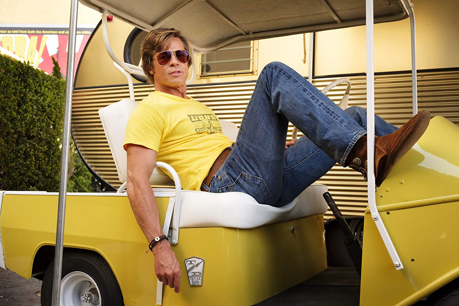 Once Upon a Time in Hollywood Brad Pitt as Cliff Booth