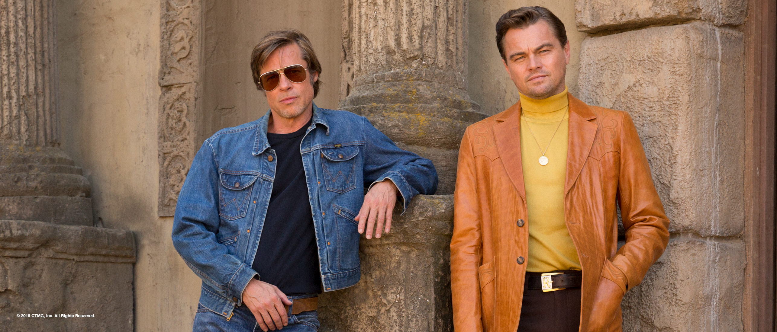 Once Upon a Time in Hollywood duo