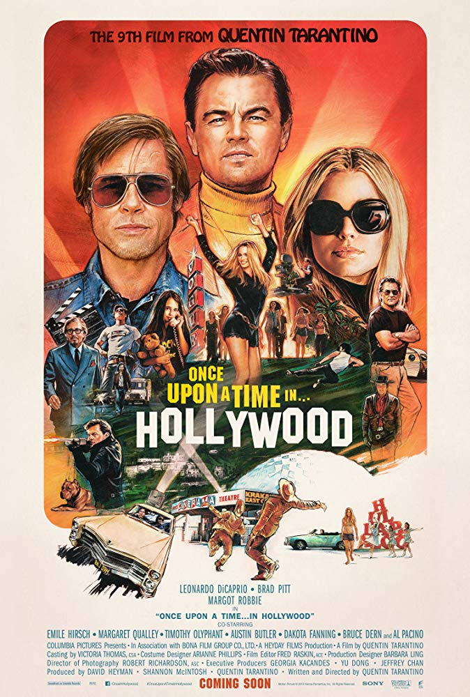 Once Upon a Time in Hollywood theatrical release poster