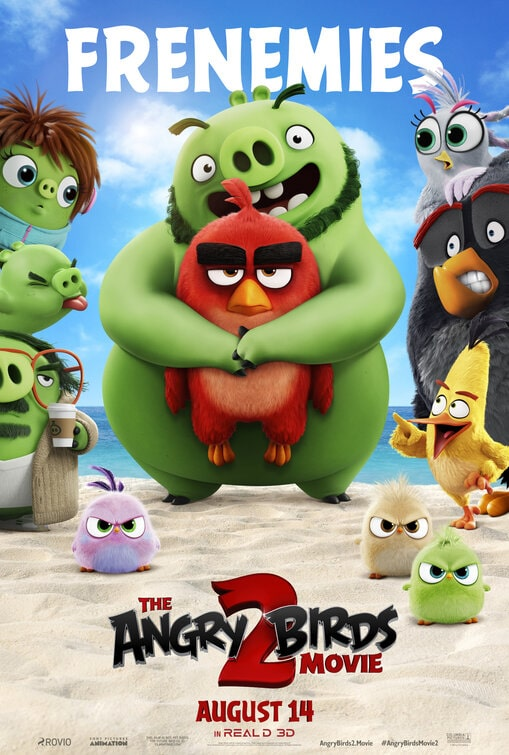 The Angry Birds Movie 2 Theatrical Release Poster