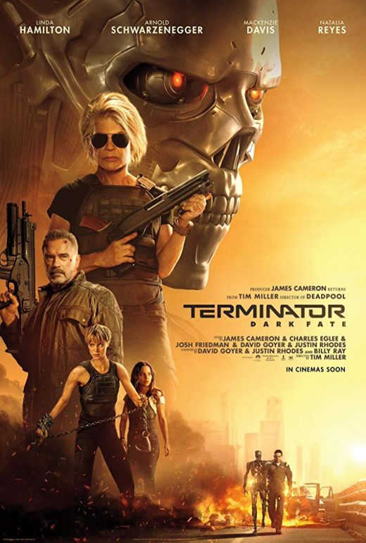 erminator Dark Fate Theatrical Release Poster