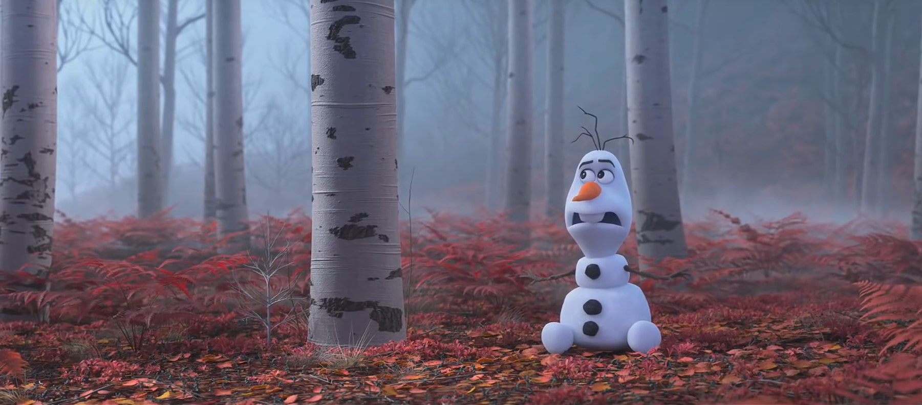 Frozen 2 Olaf in Enchanted Forest