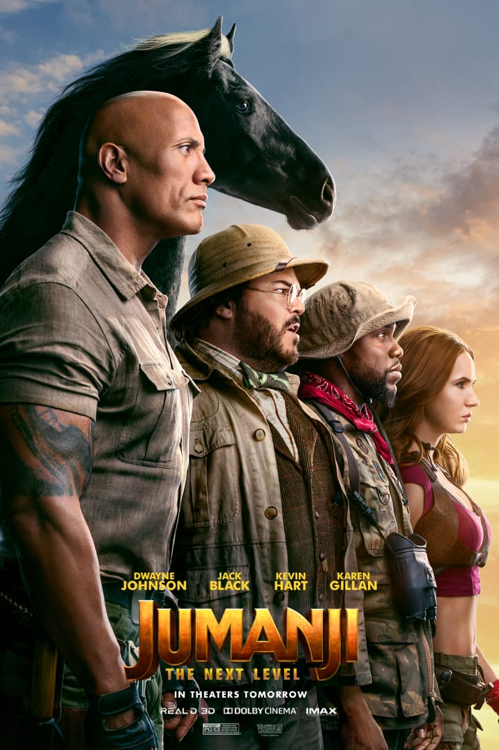 Jumanji The Next Level Theatrical Release Poster