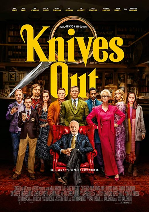 Knives Out Theatrical Release Poster