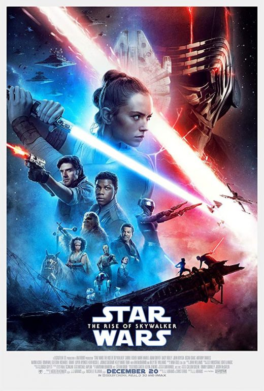 Star Wars The Rise of Skywalker Theatrical Release Poster