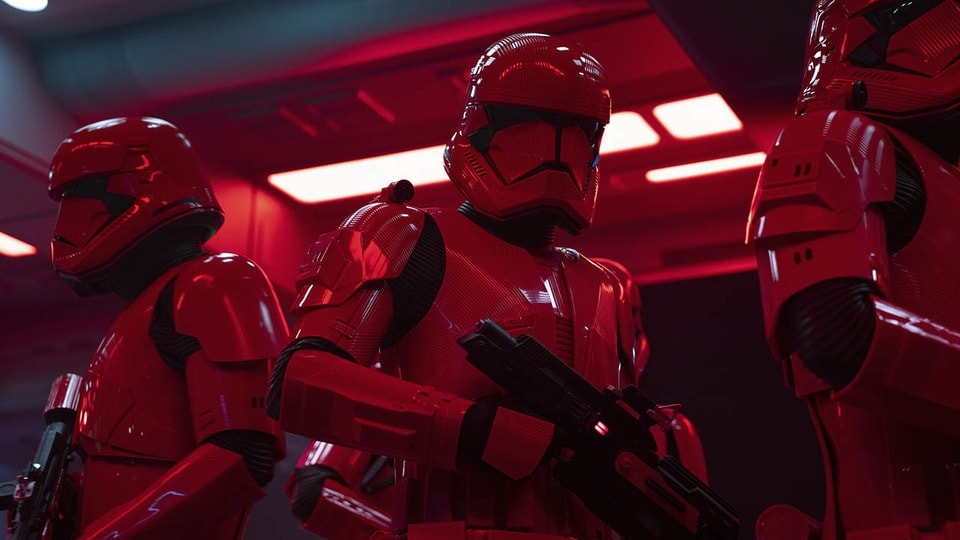 Star Wars The Rise of Skywalker red Sith Troopers