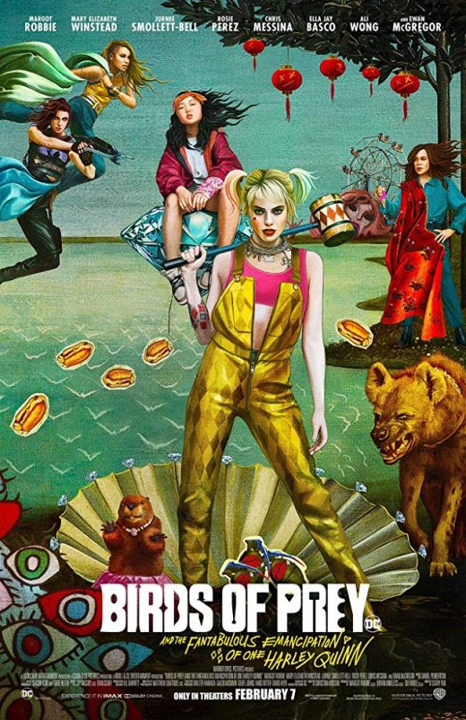 Birds of Prey Theatrical Release Poster