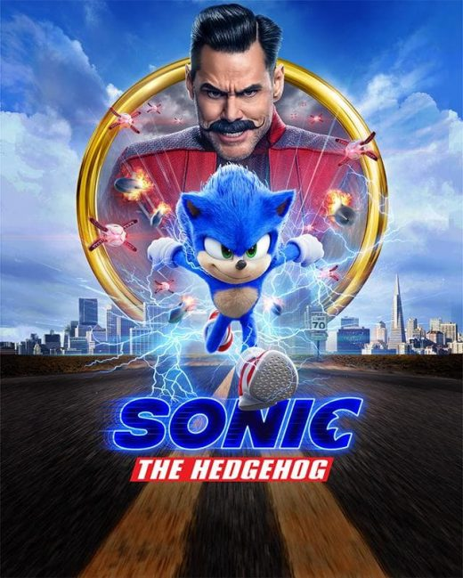 Sonic the Hedgehog Theatrical Release Poster
