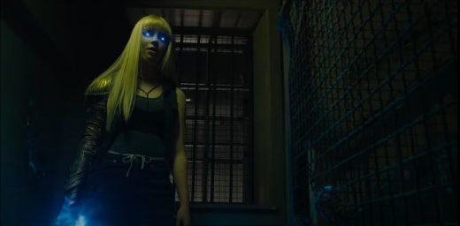 The New Mutants- railer Magik Sword and Blue Eyes