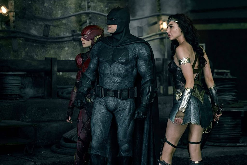 Justice League The Flash Batman and Wonder Woman