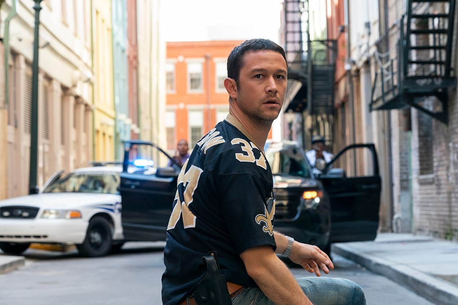 Project Power Joseph Gordon-Levitt as Frank Shaver in street outfit