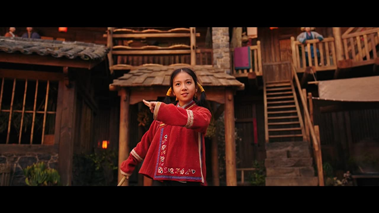 Mulan Crystal Rao plays young Mulan