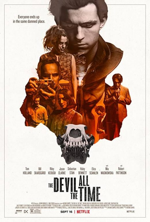 The Devil All The Time Netflix Release Poster