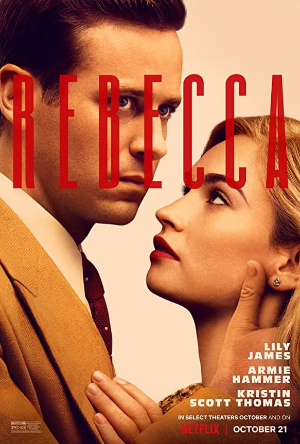 Movie Review Rebecca Netflix Release Poster