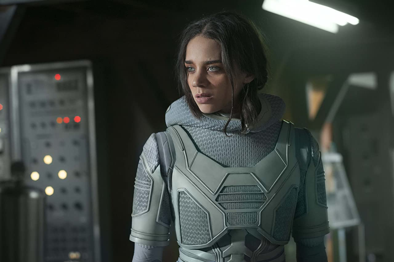 Ant Man and the Wasp Hannah John Kamen in Ghost suit