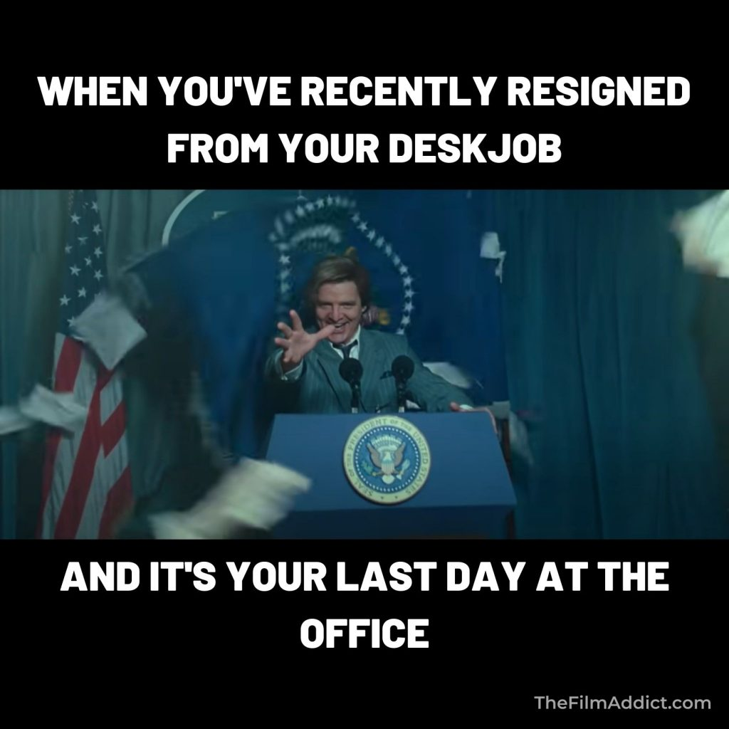 Maxwell Lord Resigned from Deskjob Meme