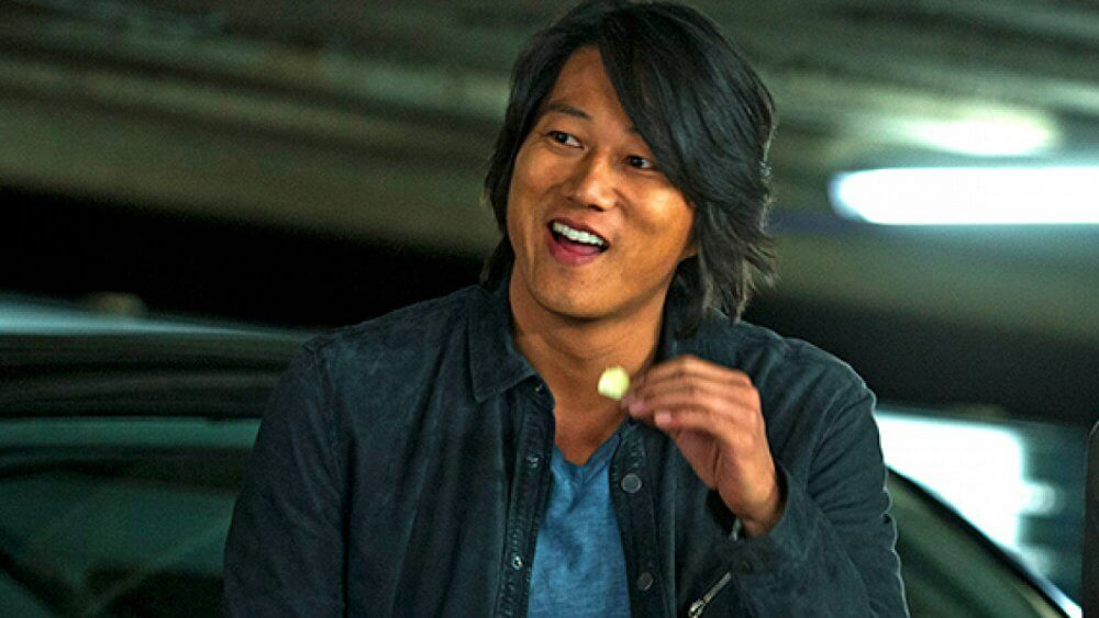 Fast and Furious Tokyo Drift young Sung Kang surprise smile