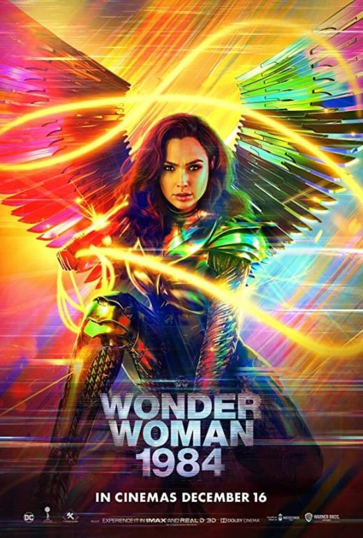 Movie Review Wonder Woman 1984 Theatrical Release Poster
