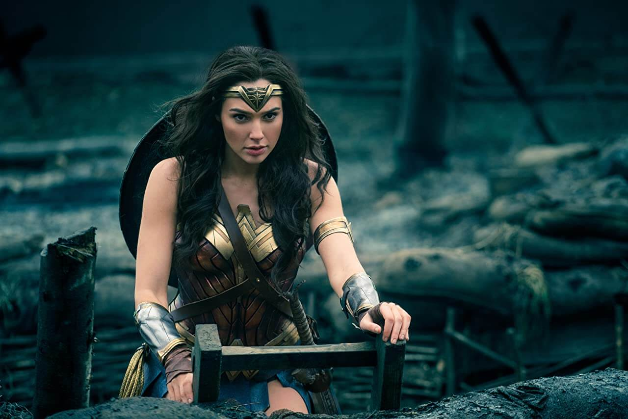 Wonder Woman 2017 Diana Prince rising up No Mans Land